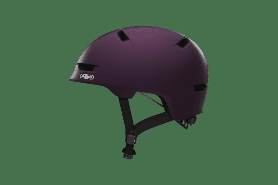 Casque Abus violet