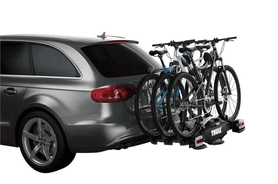 Porte-vélos boule d'attelage voiture